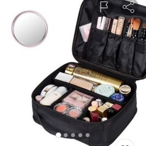 Handbags - Makeup organizer train case